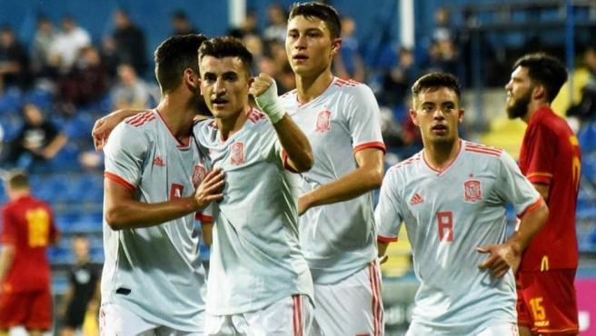 España sub-21 ante Montenegro