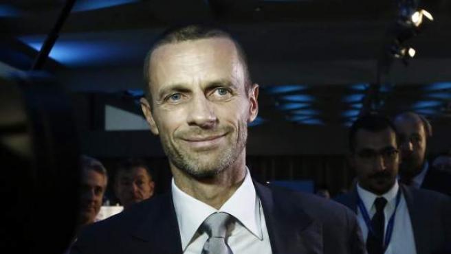 Aleksander Ceferin, presidente de la UEFA.