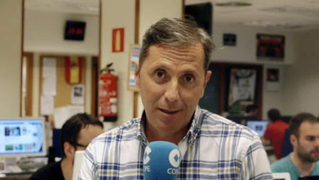 Paco González, director de 'Tiempo de Juego' de Cope.