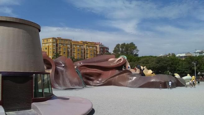 El parque del Gulliver de València, en una imagen de archivo.