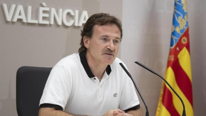 El concejal de Movilidad Sostenible y presidente de la EMT, Giuseppe Grezzi, en una imagen reciente.