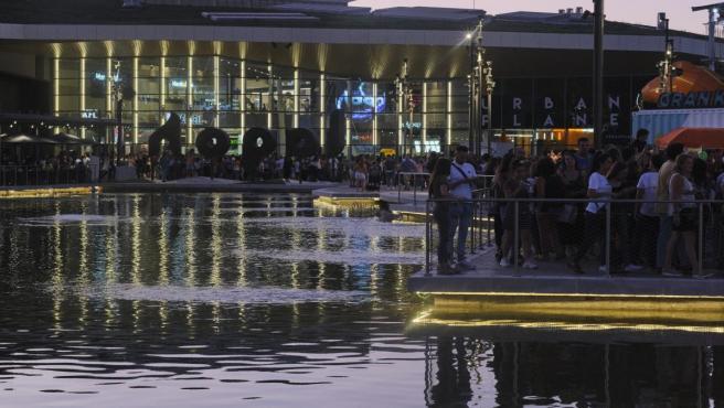 Imagen del centro comercial Lagoh de Sevilla