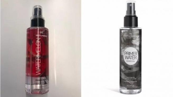 Los dos productos retirados por Primark.