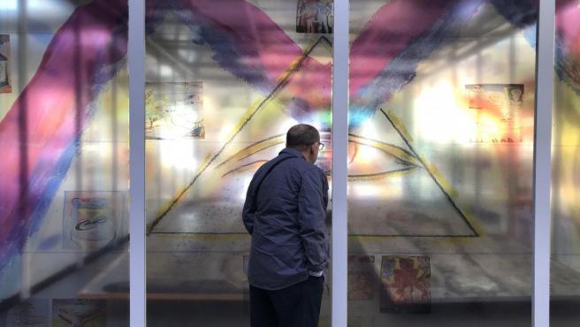 Exposición 'Moreatón' de José Morea en el Cubo del MuVIM de València
