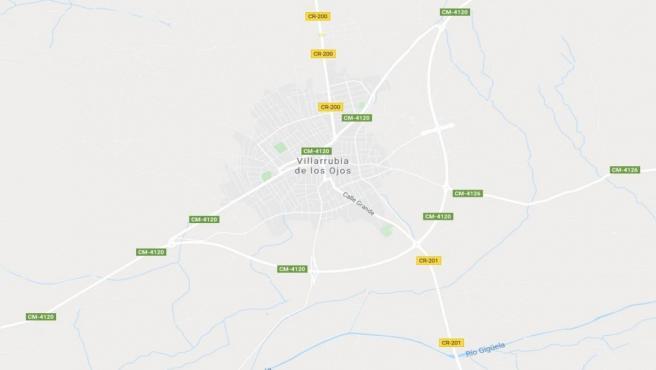 Imagen de Villarrubia de los Ojos en Google Maps