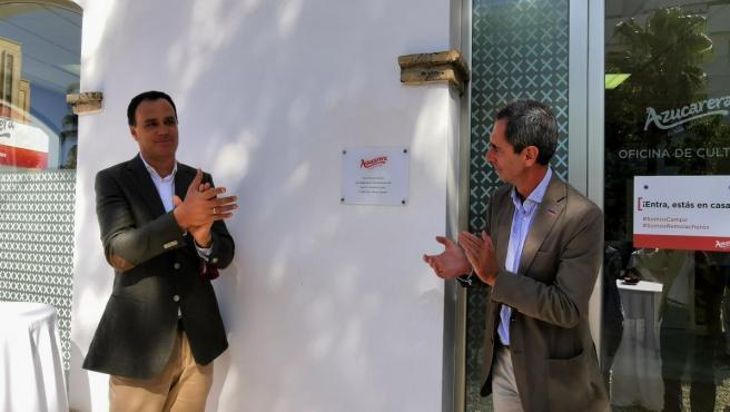 Inauguración de nueva oficina de cultivo de Azucarera en Lebrija (Sevilla).