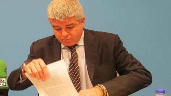 El exdirector de la extinta RTVV José López Jaraba