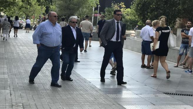 L'expresident de la Diputació de València, Alfonso Rus, a la seua arribada a la Ciutat de la Justícia de València en una imatge d'arxiu