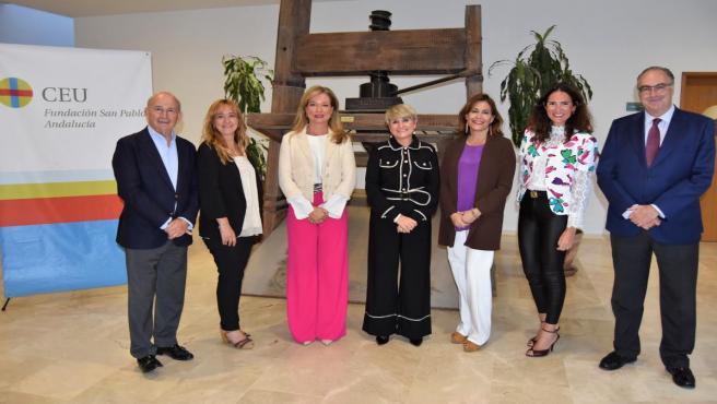 Inauguración de la tercera edición del Experto en Ceremonial y Protocolo de CEU Andalucía en Sevilla.