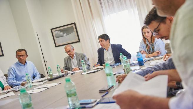 Reunión del Consejo de Administración de Metrotenerife