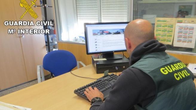 Guardia Civil en investigación