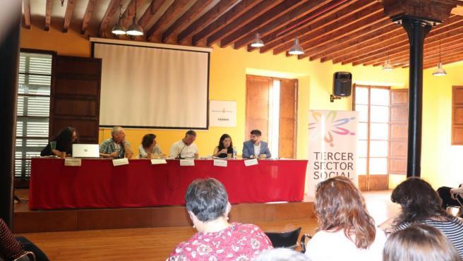 El presidente del IMAS, Javier de Juan, interviene en una jornada organizada por el Tercer Sector Islas Baleares.