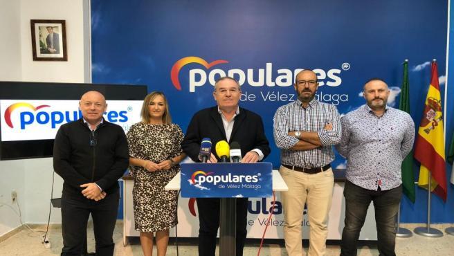 El portavoz municipal del PP en v, Francisco Delgado Bonilla