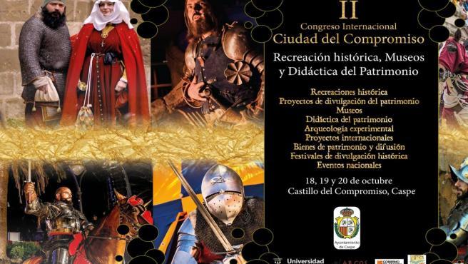 Programa II edición del Congreso Internacional Ciudad del Compromiso de Caspe