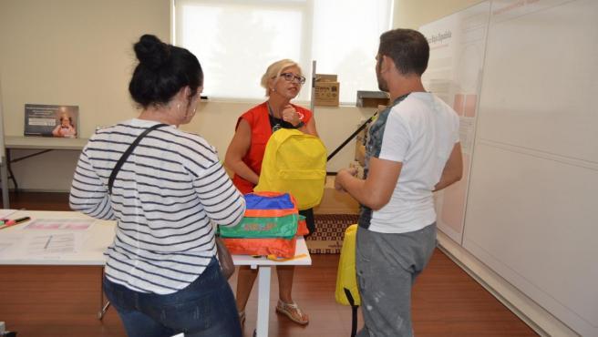 Cruz Roja entrega material escolar para menores en situación de vulnerabilidad