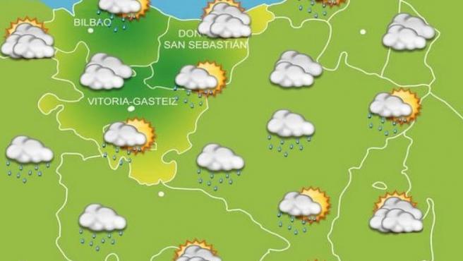 Previsiones meteorológicas para el 17 de octubre en Euskadi.