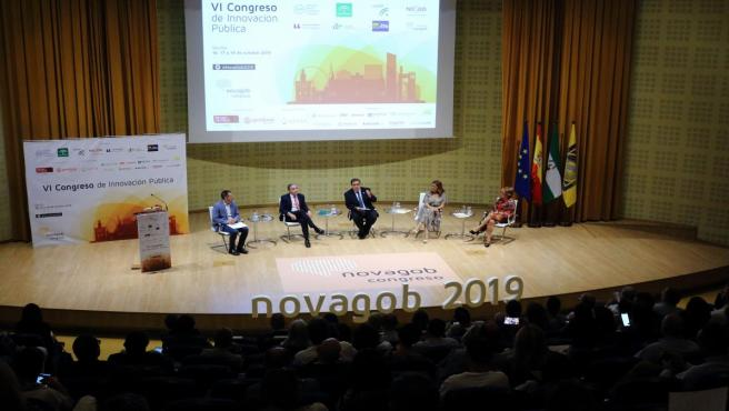 Inauguración del Congreso de innovación pública 'Novagob 2019', en la UPO.