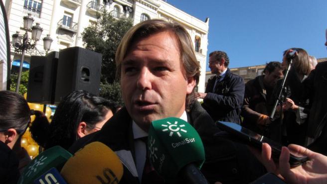 El delegado del Gobierno andaluz en Córdoba, Antonio Repullo, en una imagen de archivo