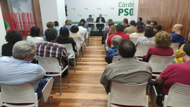 Reunión del Comité Electoral del PSOE de Córdoba.
