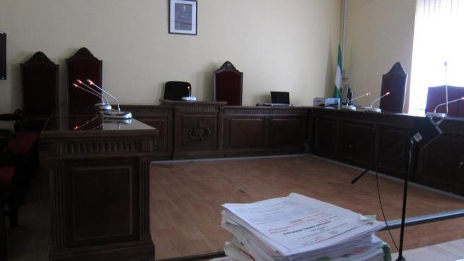 Sala de vistas del juzgado