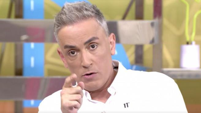 Kiko Hernández, en 'Sálvame'.