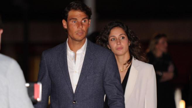 Rafa Nadal y Xisca Perelló, en 2016.