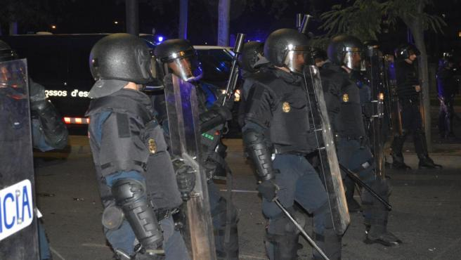 Operación policial el miércoles en Lleida