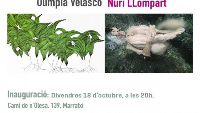 Cartel de la exposición 'Be Nature', de Olimpia Velasco y Nuri Llompart