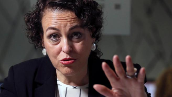 La ministra de Trabajo en funciones, Magdalena Valerio.