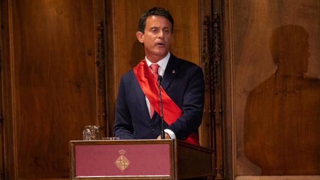 El regidor de BCN Canvi Manuel Valls.