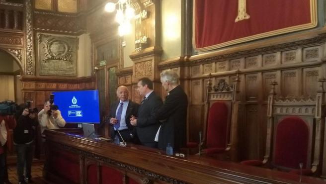 Conferencia de Alejandro Portes en la JGPA