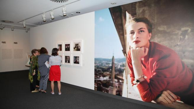 Exposición 'Robert Capa en color' en CaixaForum Palma.