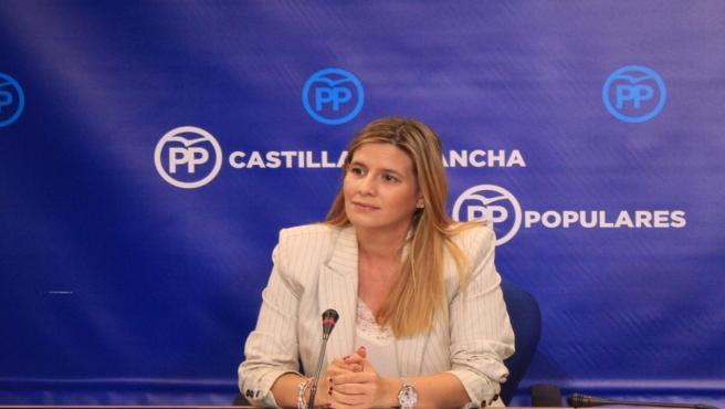 La secretaria general del PP de C-LM, Carolina Agudo, en una foto de archivo
