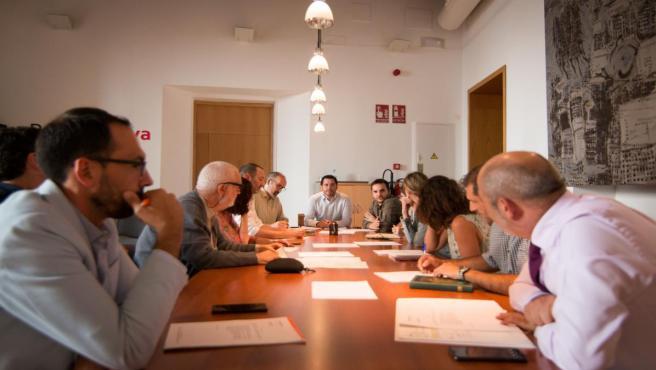 Primera reunión del Consejo Municipal de Comercio de Palma de la legislatura