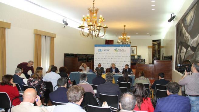 Asamblea general del Patronato Provincial de Turismo de Huelva.