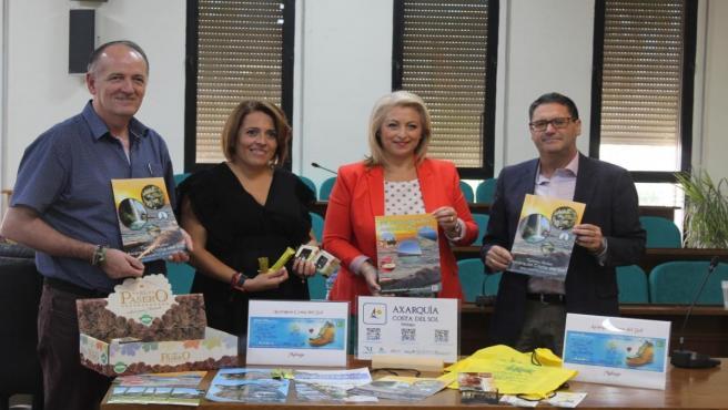 Presentación de la promoción de la Axarquía en la Feria de Turismo de Jaén