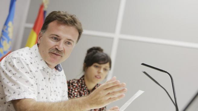 El regidor de Mobilitat a València i president de l'EMT, Giuseppe Grezzi, en una imatge recent.