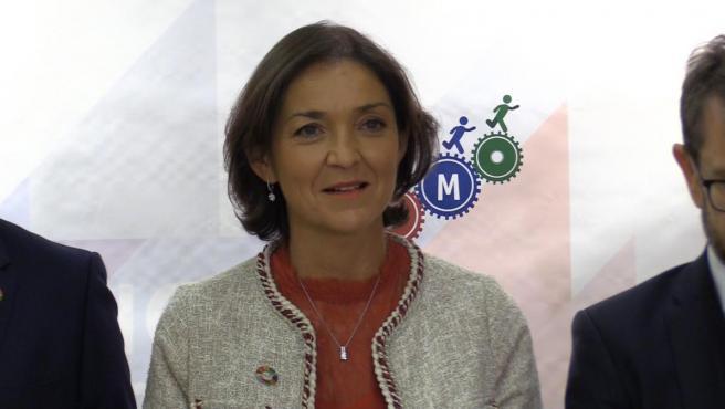 Reyes Maroto, ministra de Industria, Comercio y Consumo.