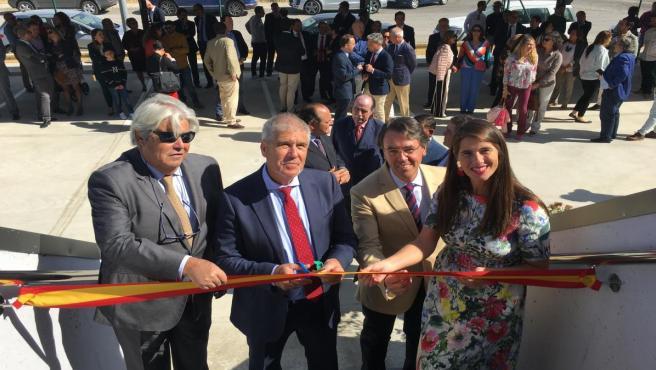 Autoridades inauguran las nuevas instalaciones de Dehesas Reunidas