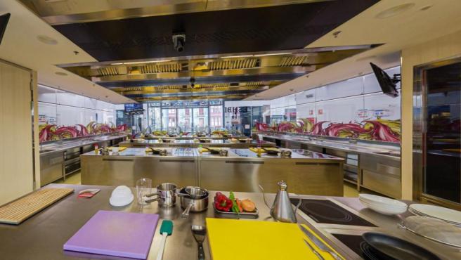 Escuela de Cocina de la Ribera en Bilbao