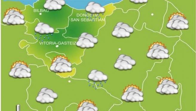 Previsiones meteorológicas para el 18 de octubre