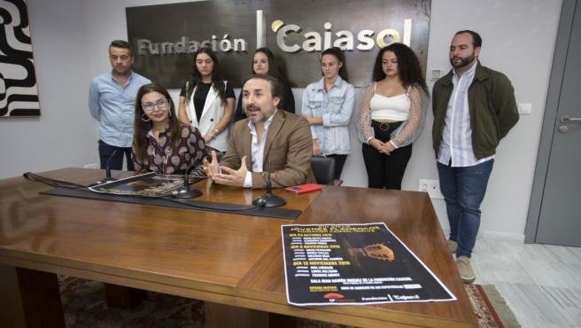 Presentan la XIII edición del Ciclo Jóvenes Flamencos de la Fundación Cajasol.