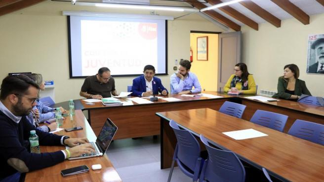 Reunión de la Comisión de Juventud.