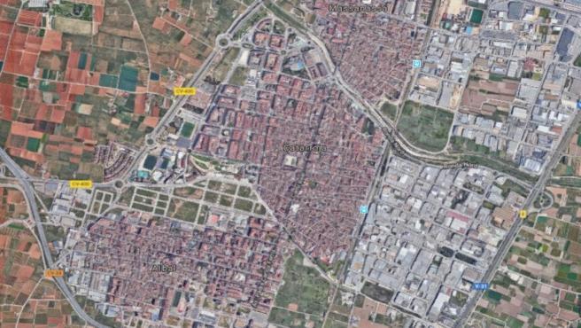 Localización de Catarroja