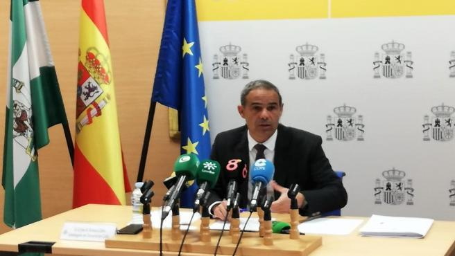 El subdelegado del Gobierno en Cádiz, José Pacheco