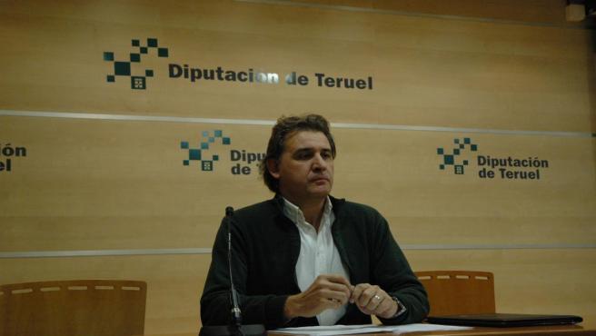 El alcalde de Utrillas, Joaquín Moreno