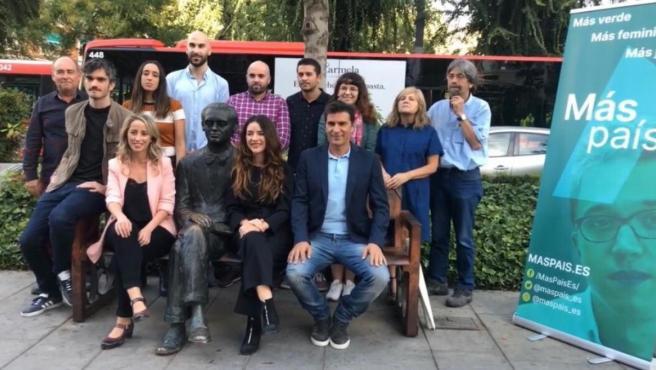Ana Terrón encabeza la lista por Granada de Más País
