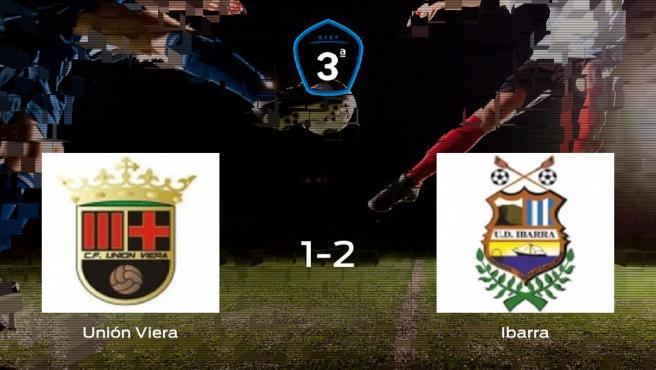 El Ibarra se lleva tres puntos a casa tras vencer 1-2 al Unión Viera