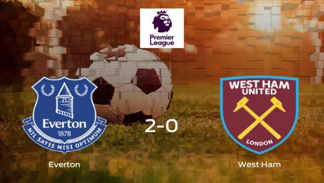El Everton gana 2-0 al West Ham y se lleva los tres puntos