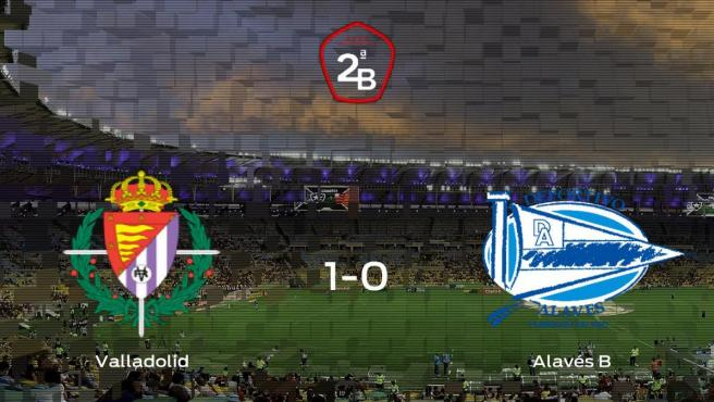 El Valladolid B doblega al Alavés B por 1-0